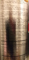 wafer rolls ferro - Ingredienti - el