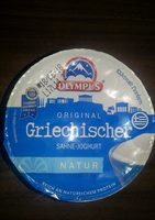 Griechischer Sahne-Joghurt - Product