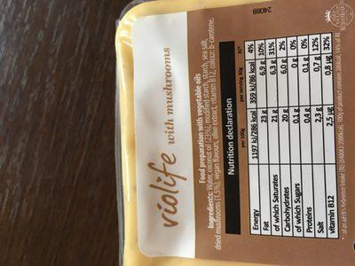 Violife 200G - Ingrediënten - fr