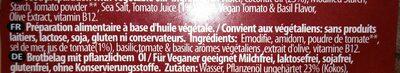 Violife 400G 'faux' mage tomate basilic - Ingrediënten - de