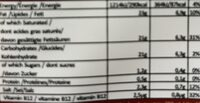 Violife 400G 'faux' mage tomate basilic - Voedingswaarden - de