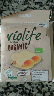 Queso Violife Organic. Lonchas - Product
