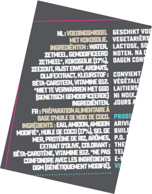 Prosociano Bloc - Ingredients - fr
