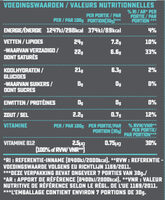 Grated Original Flavour - Voedingswaarden - fr