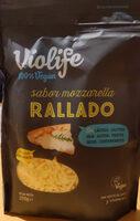 Mozzarella flavour grated - Product - en