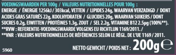 Epic Mature saveur cheddar - Nährwertangaben - fr