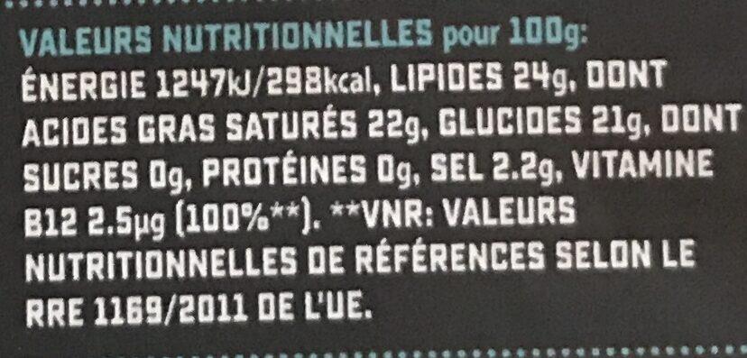 Gouda flavour grated - Valori nutrizionali - fr