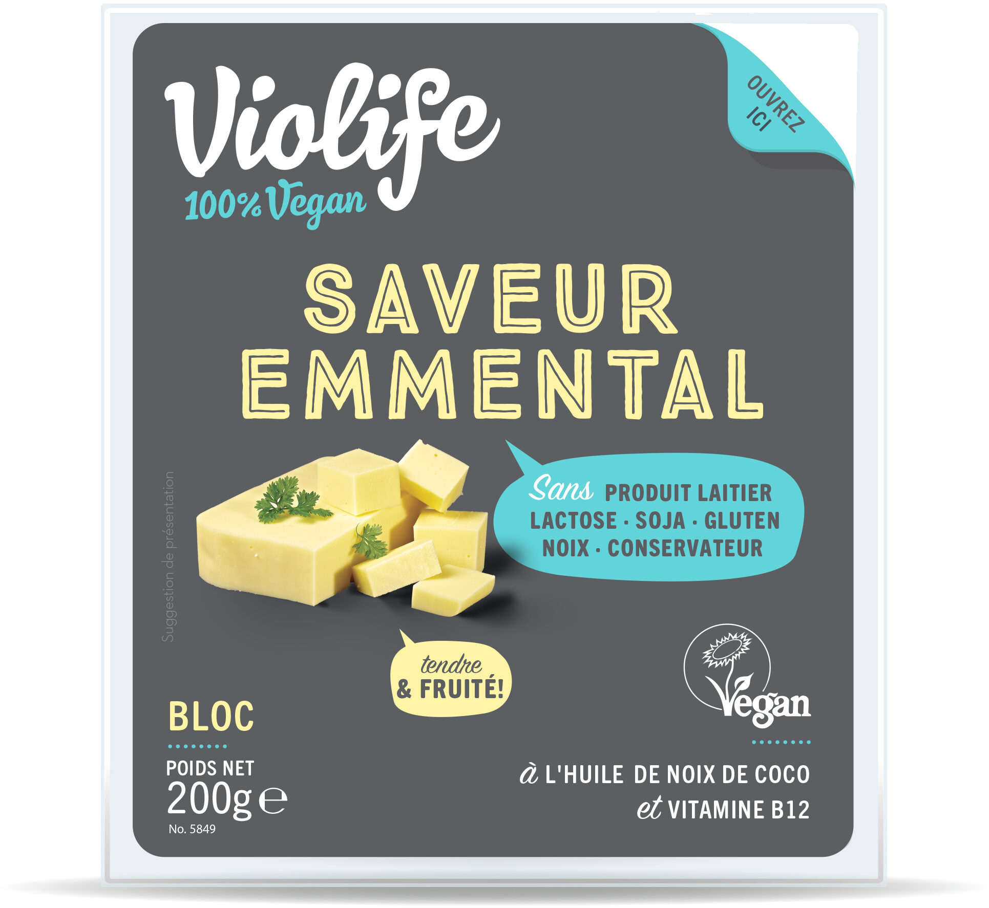 Bloc saveur Emmental - Product - fr