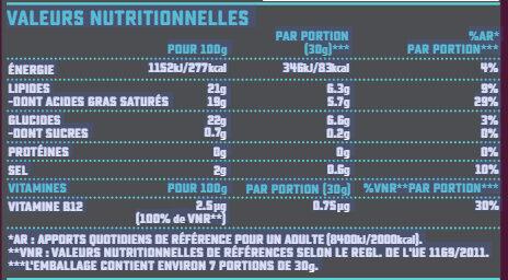 Bloc saveur Emmental - Nutrition facts - fr