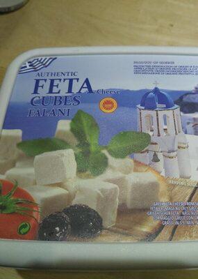 Authentic FETA cheese cubes falani - Product - fr