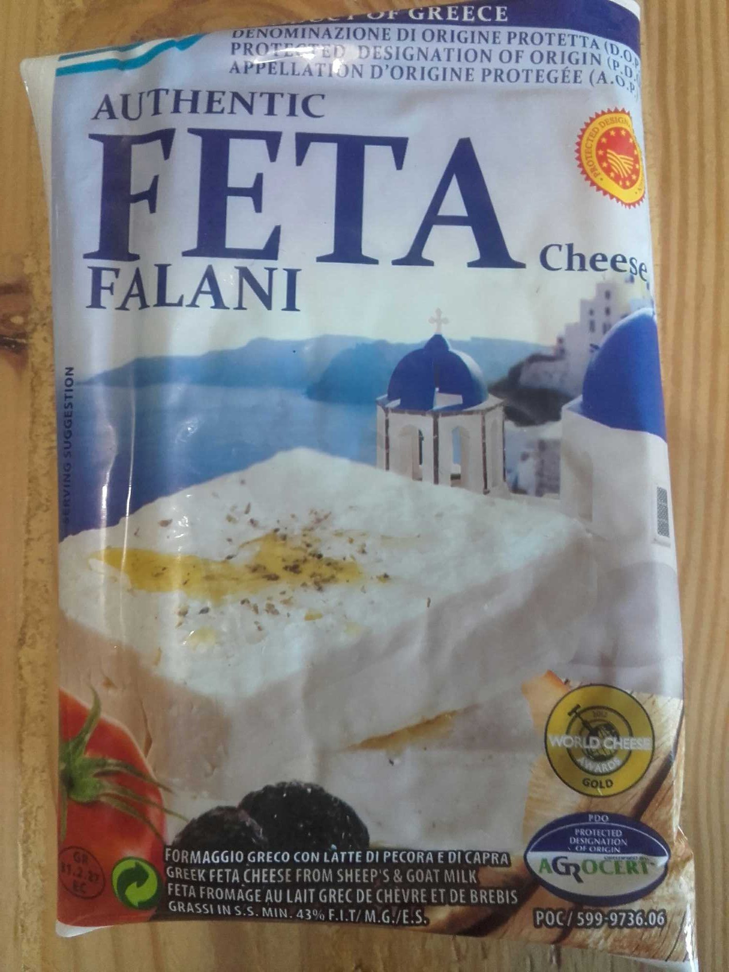 Feta grecque AOC - Produit