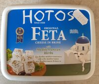 Feta with mediterranean herbs - Product - fr