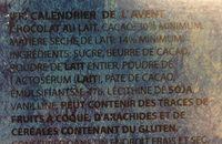 Disney Frozen Xmas Calendar - Ingredienti - fr