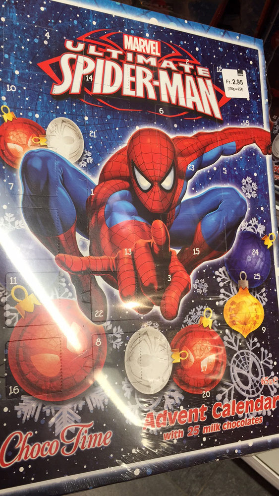 Calendrier De L'Avent Choco Time Marvel Ultimate Spiderman - Product