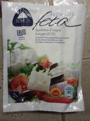 Fromage Feta A.O.P. - Product - fr