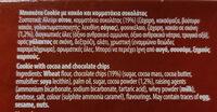 Cookie - Ingredients - en