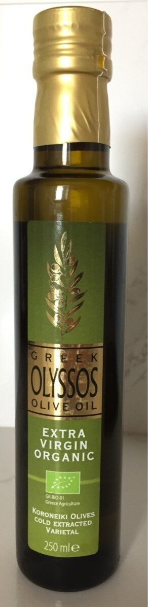 Greek Olive Oil - Produit