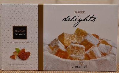 Délices Grecs aux Amandes- Loukoums - Product