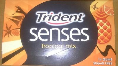 Senses tropical mix - Chewing-gum - Prodotto - fr