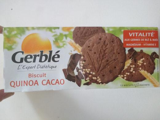 Biscuit Quinoa Cacao - Produit