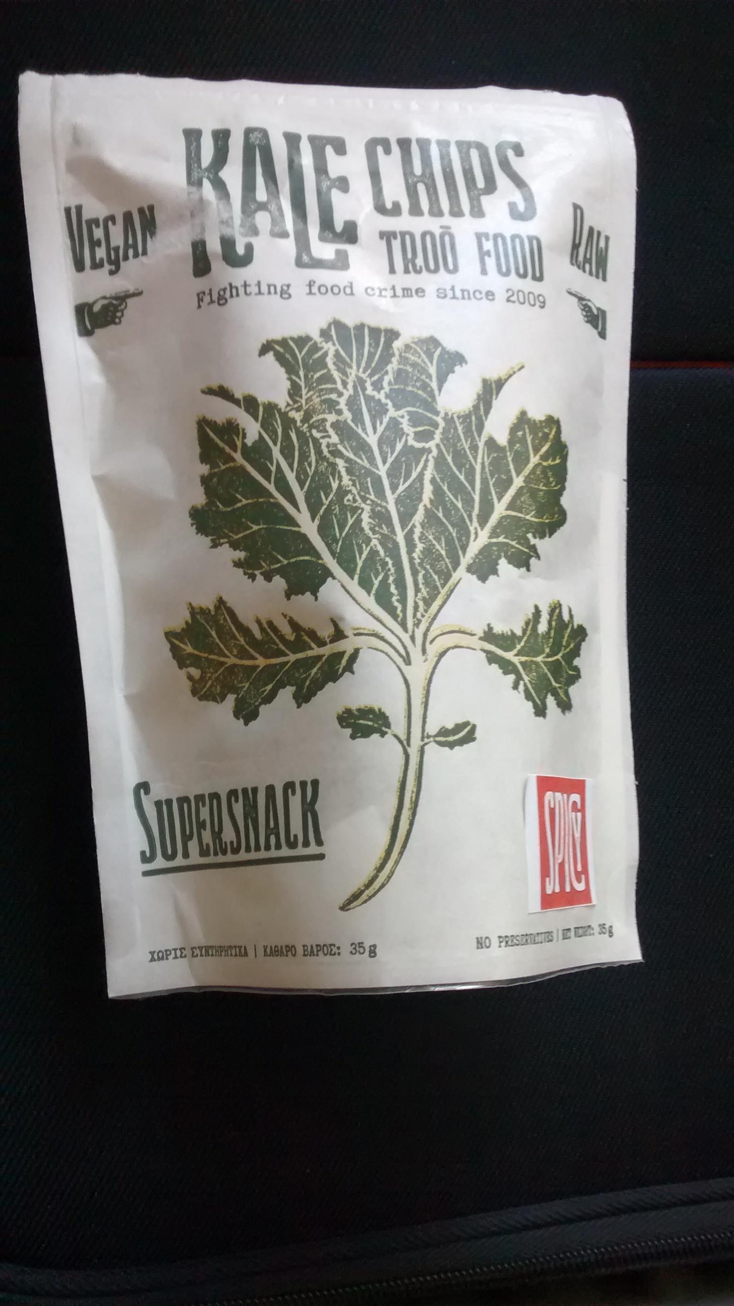 Troo Food-Kale Chips - Produit - el
