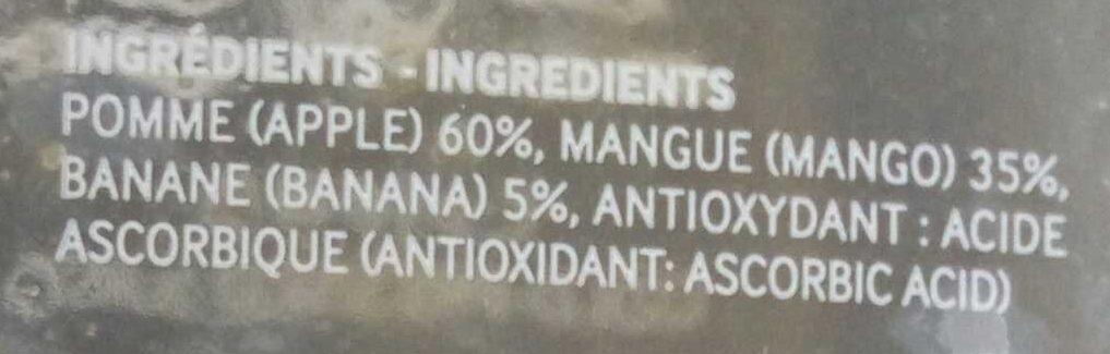 Quatre - Ingrédients - fr