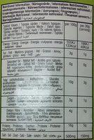 Al-Rabih Hummos - Nutrition facts