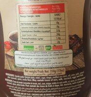 Puidor BBQ Sauce - حقائق غذائية - fr