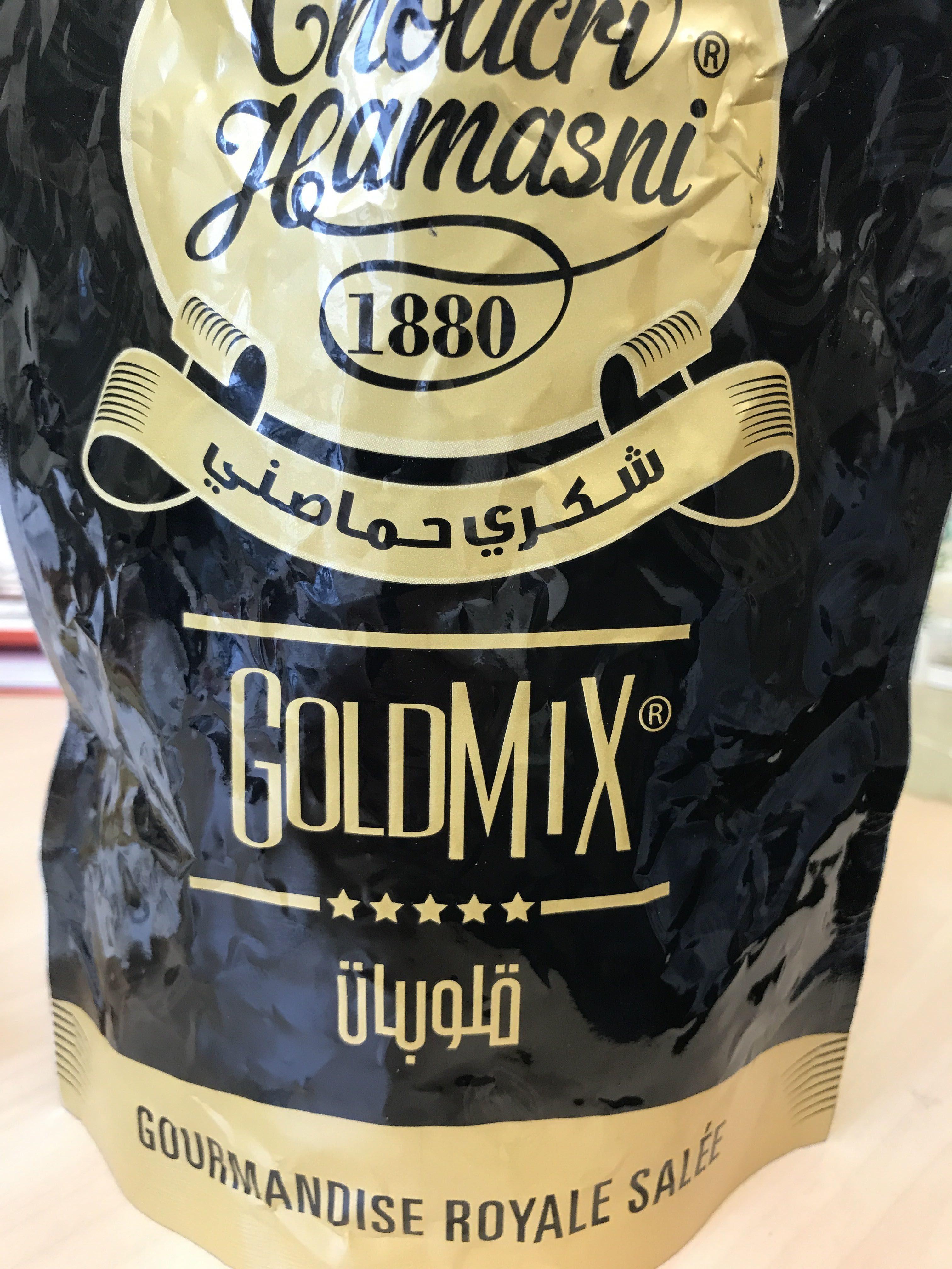 GoldMix gourmandise royale salée - Produit - fr