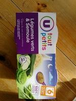 Légumes verts & Semoule - Product