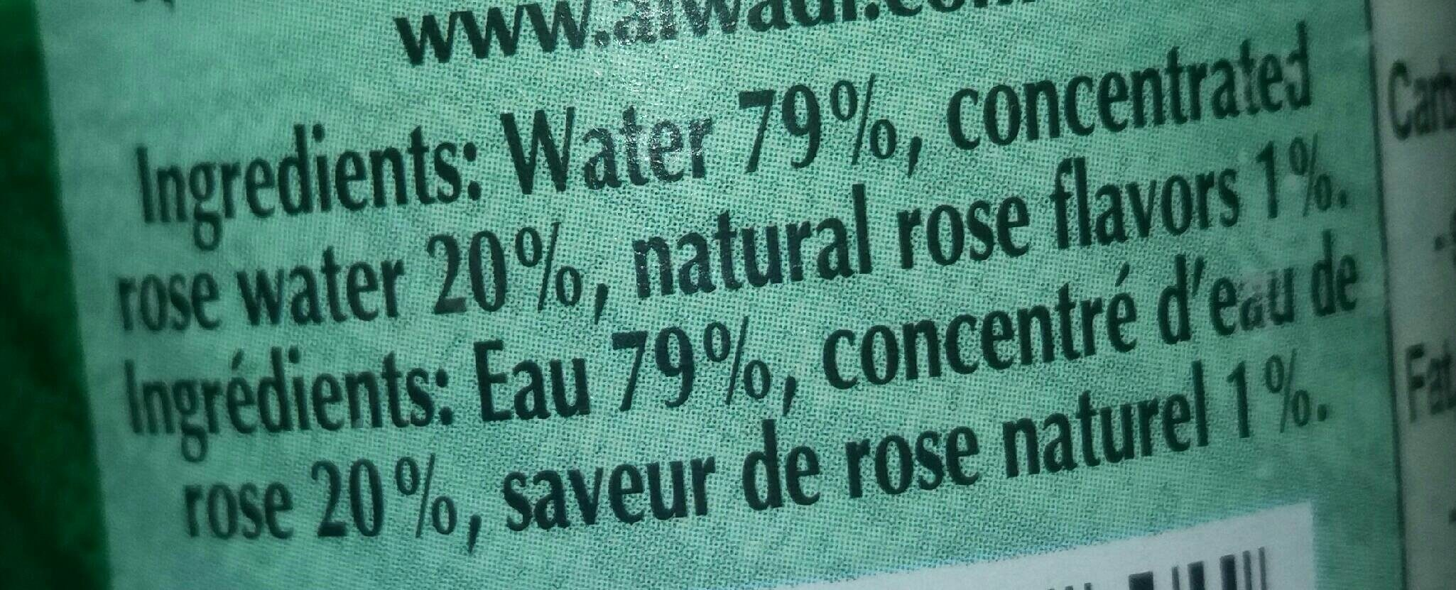 al wadi rose water