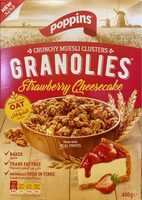 Granolies Strawberry Cheesecake - نتاج - fr