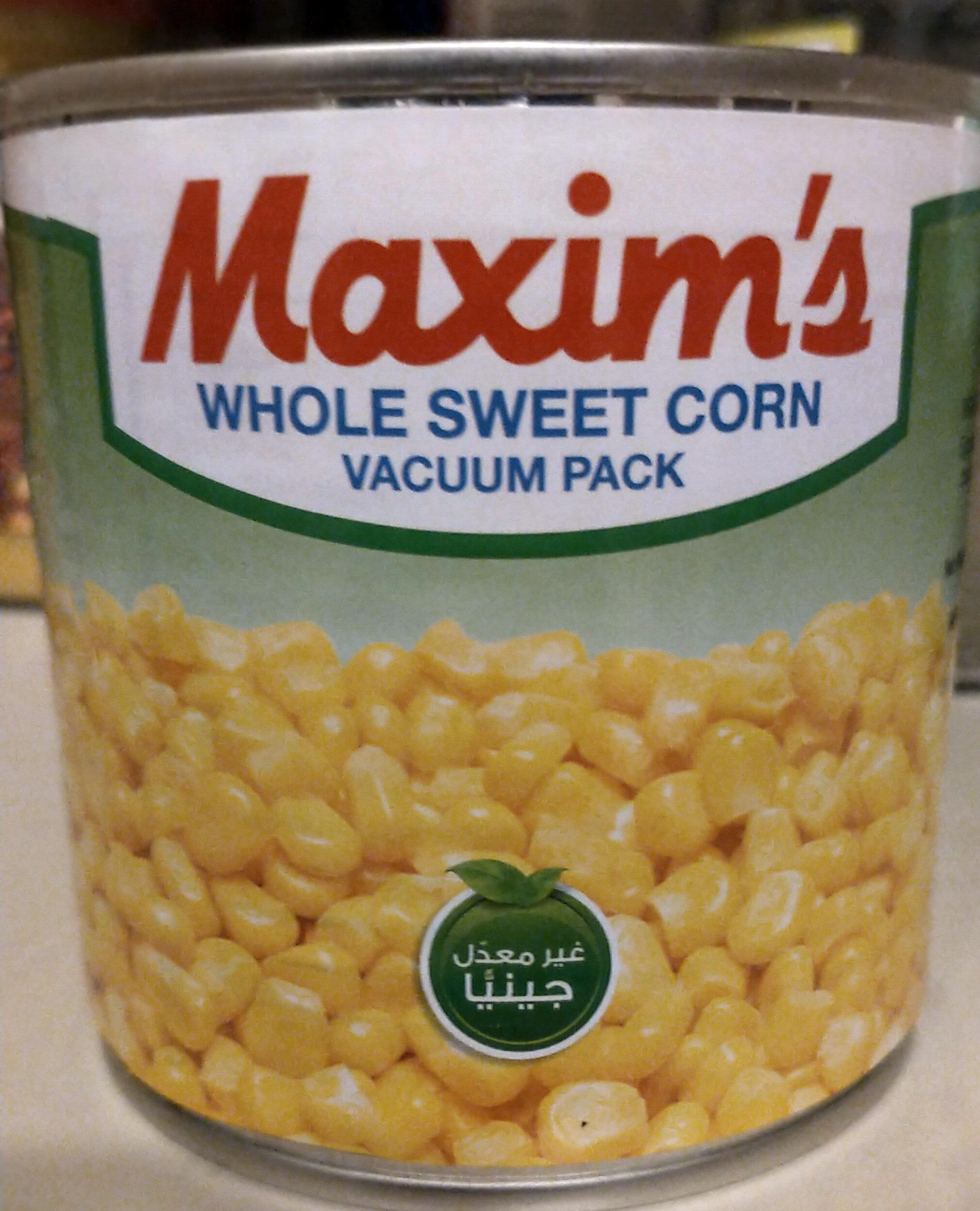 Maxim's Whole Sweet Corn - نتاج - en