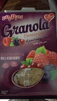 Granola Crunchy Oat Raspberry &  Blueberry - نتاج - en