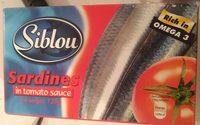 Sardines in tomato sauce - Product - sq