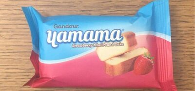 Yamama Strawberry Mini-Pound Cake - نتاج - fr