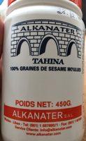 Tahina - Produit - fr