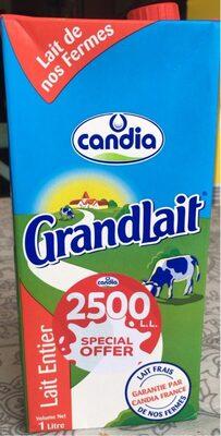 GrandLait Lait Entier - نتاج