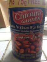 Cooked Fava Beans (foul Medammas) - Produit