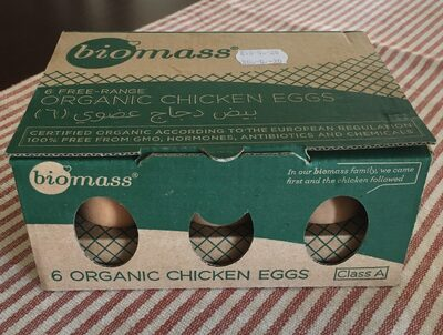 Organic chicken eggs - نتاج - fr