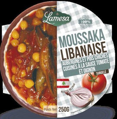 Moussaka Libanaise - Product - fr