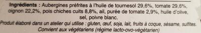 Moussaka Libanaise - Ingrediënten - fr