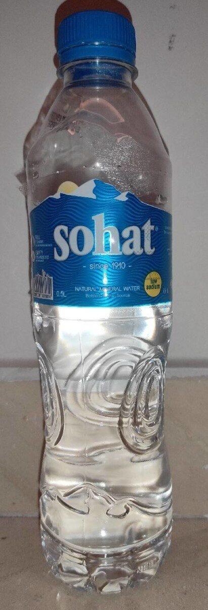 Eau Minérale - Sohat - نتاج - fr