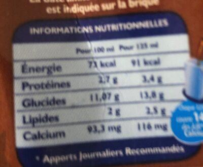 Candy Up Chocolate - حقائق غذائية - en