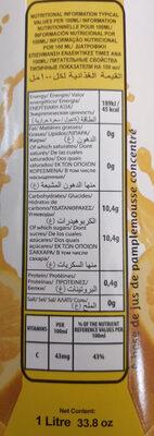 Jus de pamplemousse - Product - fr