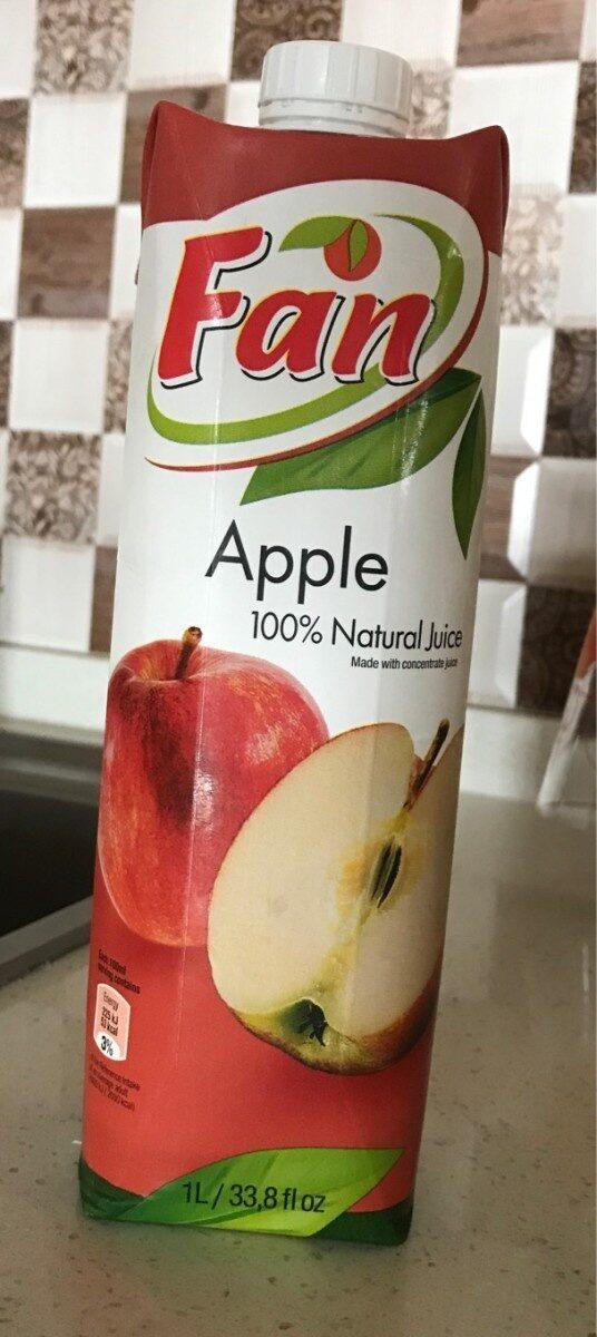 Apple natural juice - Produit - fr