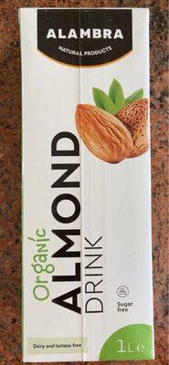 Almond milk - Προϊόν