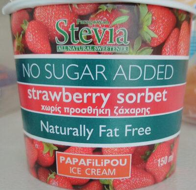 Strawberry Sorbet - Προϊόν - en