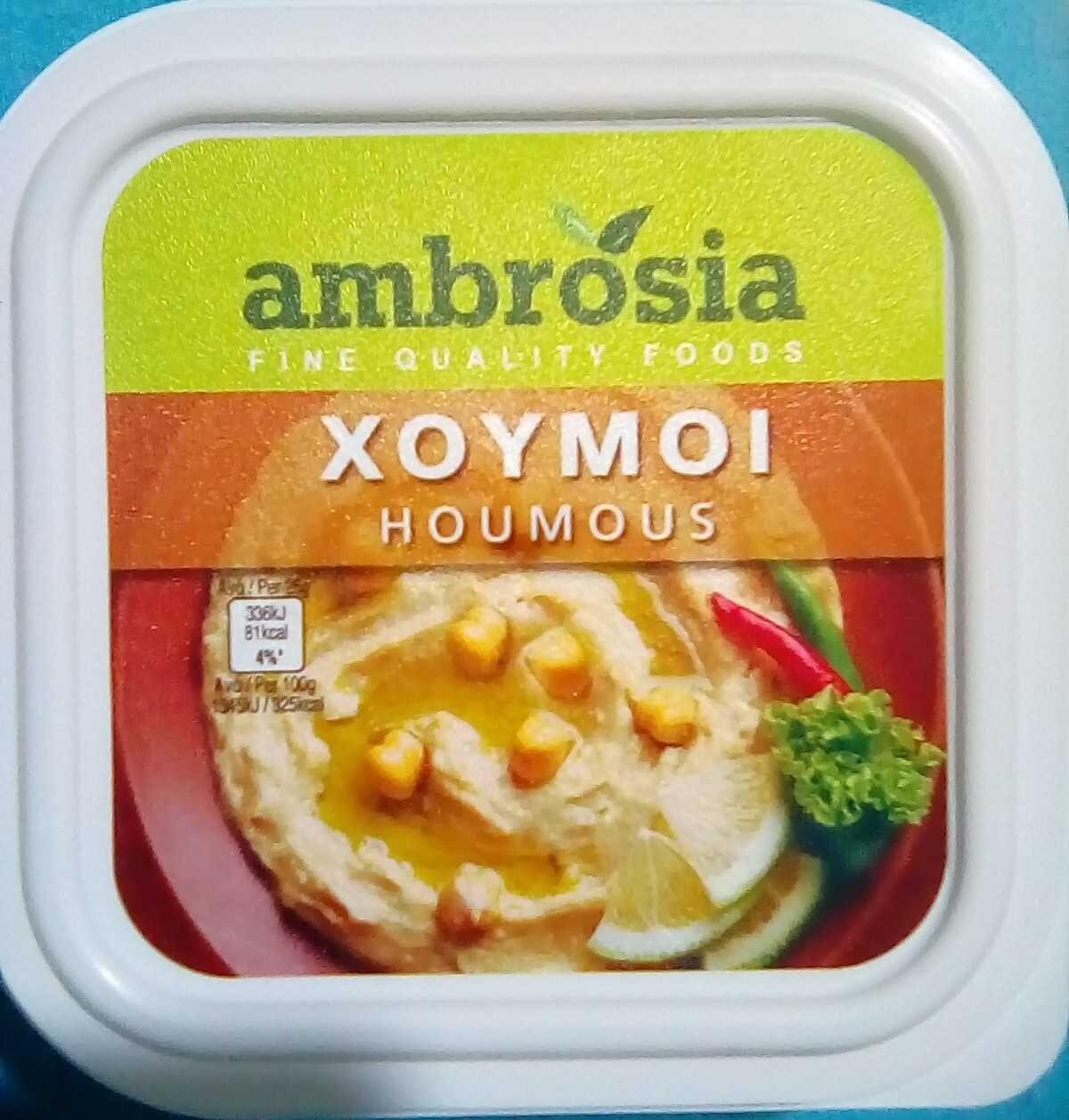 Houmous - Προϊόν - en