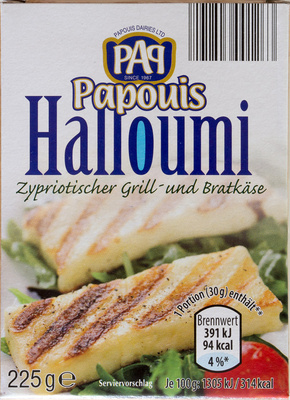 Halloumi - Produkt